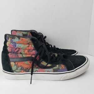 Vans Multi-Color Warped Floral Sk8-Hi Shoes